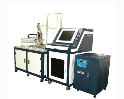 双工位光纤耦合焊接机